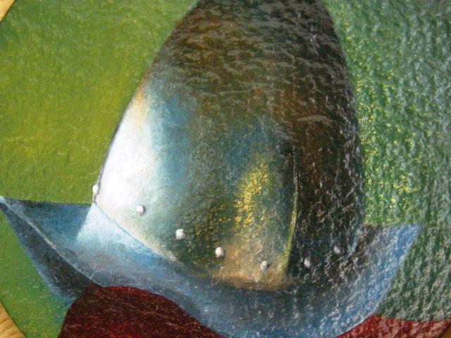 Title: Pikemans helmet, Cabasset detail